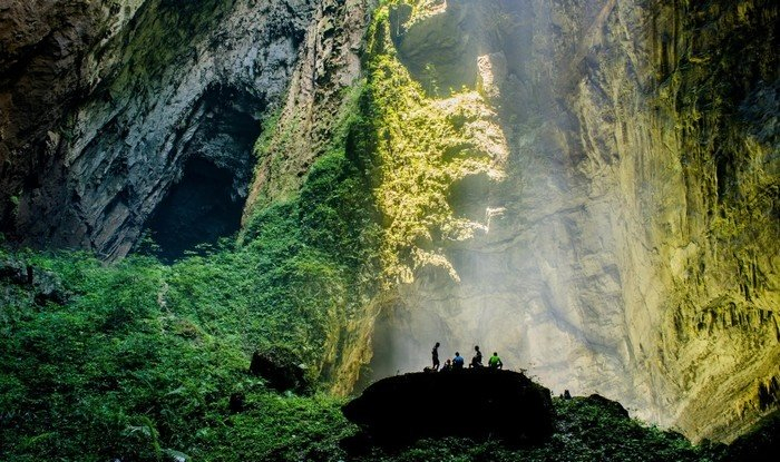 Inside Son Doong's magnificent cave system is a diverse ecosystem