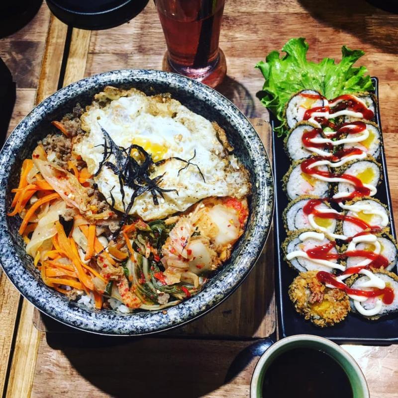 Các món ăn mang đậm dấu ấn Hàn Quốc