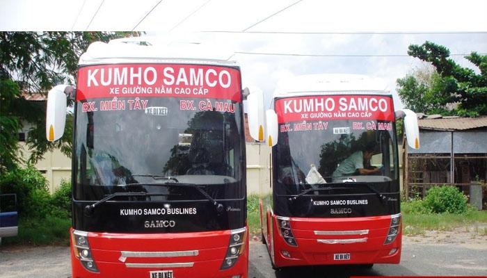 Xe khách Kumho Samco