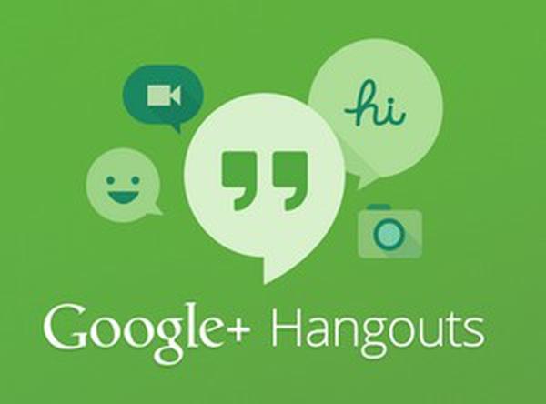 Hangouts cũng khá nổi tiếng, được biết đến như một đứa con của Google