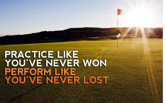 Hành động như chưa bao giờ thất bại, luyện tập như chưa bao giờ chiến thắng