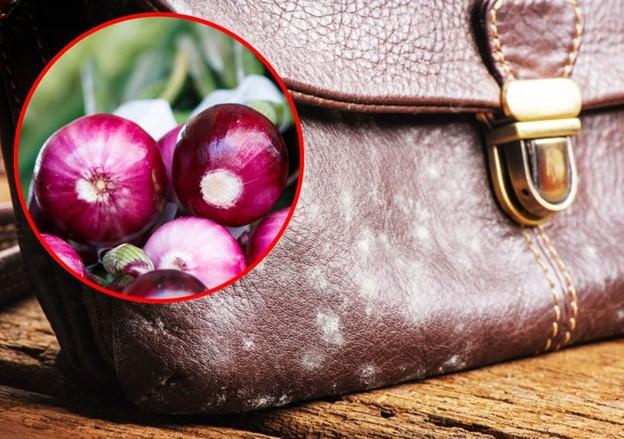 Hành tây giúp làm sạch các vật dụng bằng da