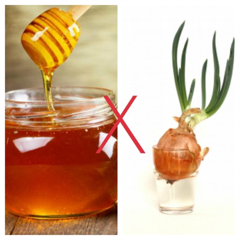 Hành tây và mật ong đều tốt cho sức khoẻ nhưng không được kết hợp với nhau
