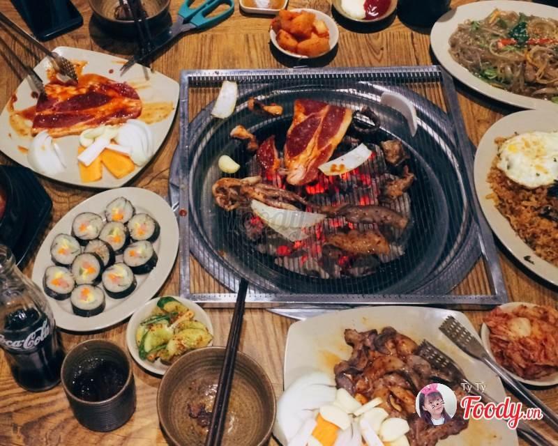Đồ ăn tại HanKang quán
