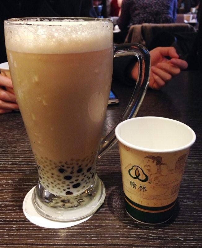 Trà sữa tại Hanlin Tea House