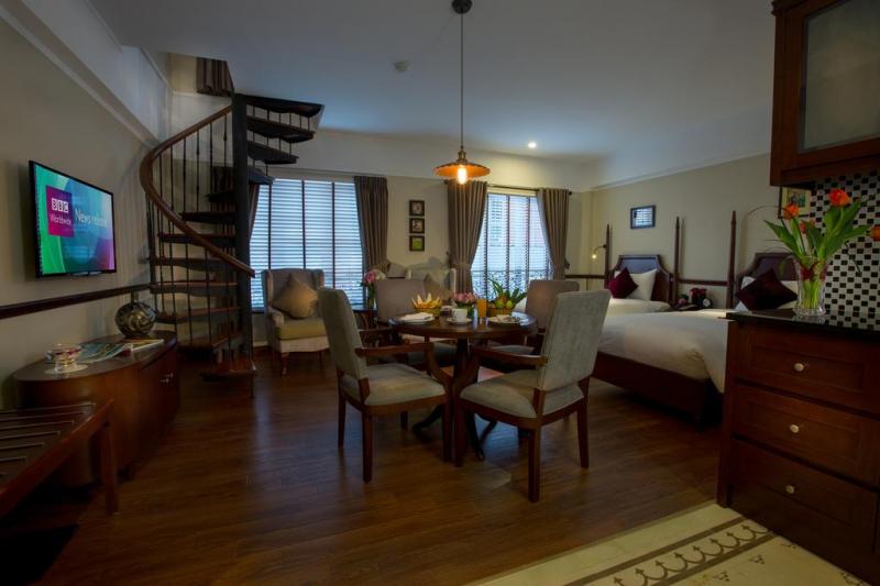 Phòng ngủ được thiết kế tạo cảm giác thân thiện như ở nhà