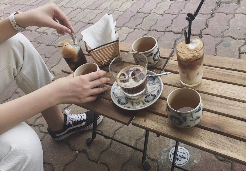 Cà phê luôn là lựa chọn hàng đầu tại đây