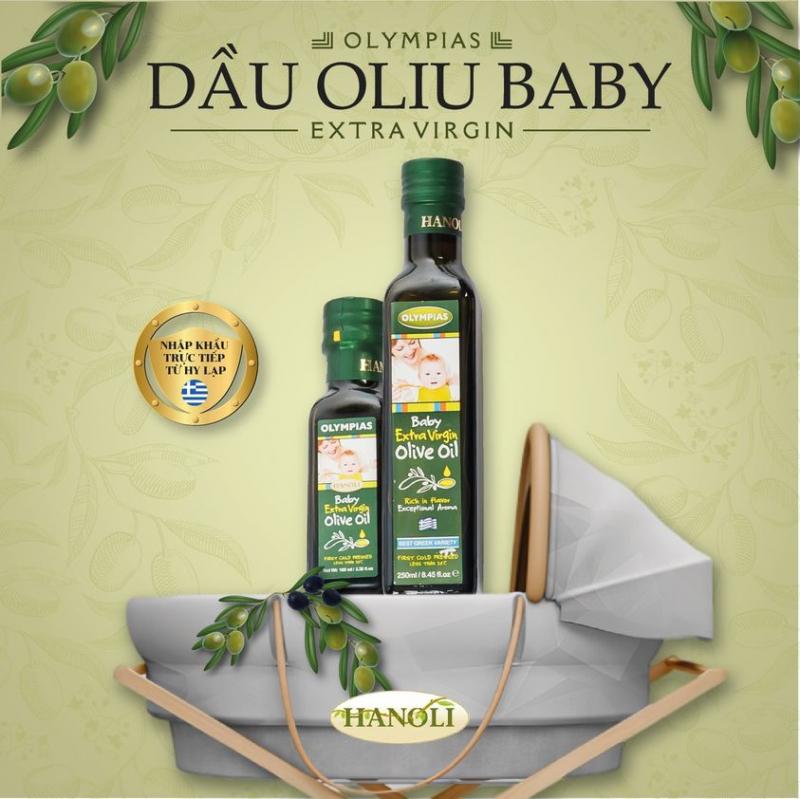Những sản phẩm dầu Oliu của Hanoli