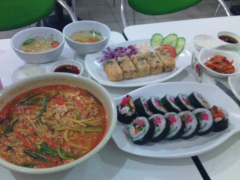 Một số món ăn tại Hanuri