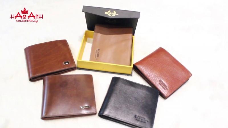 Một số mẫu ví nam tại Hảo Anh Collection