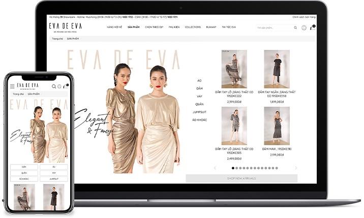 Thiết kế website Haravan