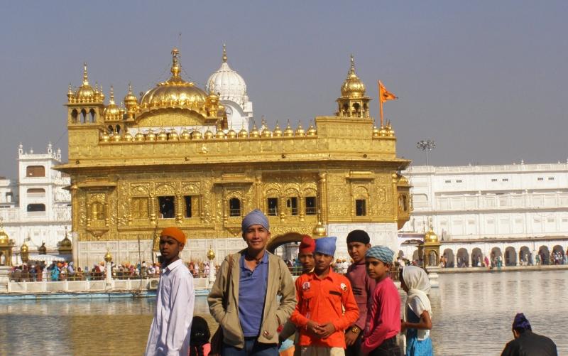 Biểu tượng thiêng liêng của đạo Sikh.