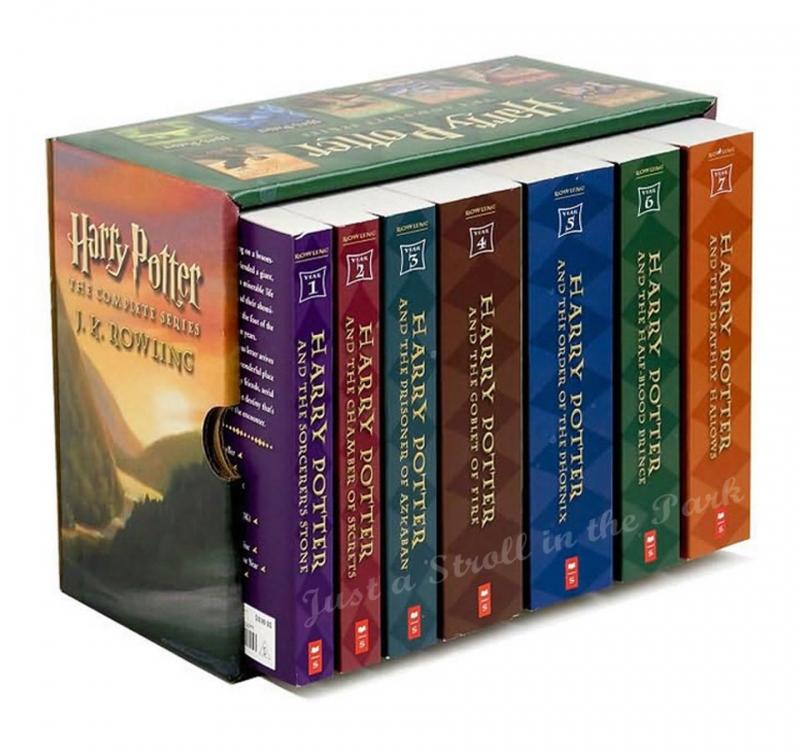 Bộ 7 tập Harry Potter
