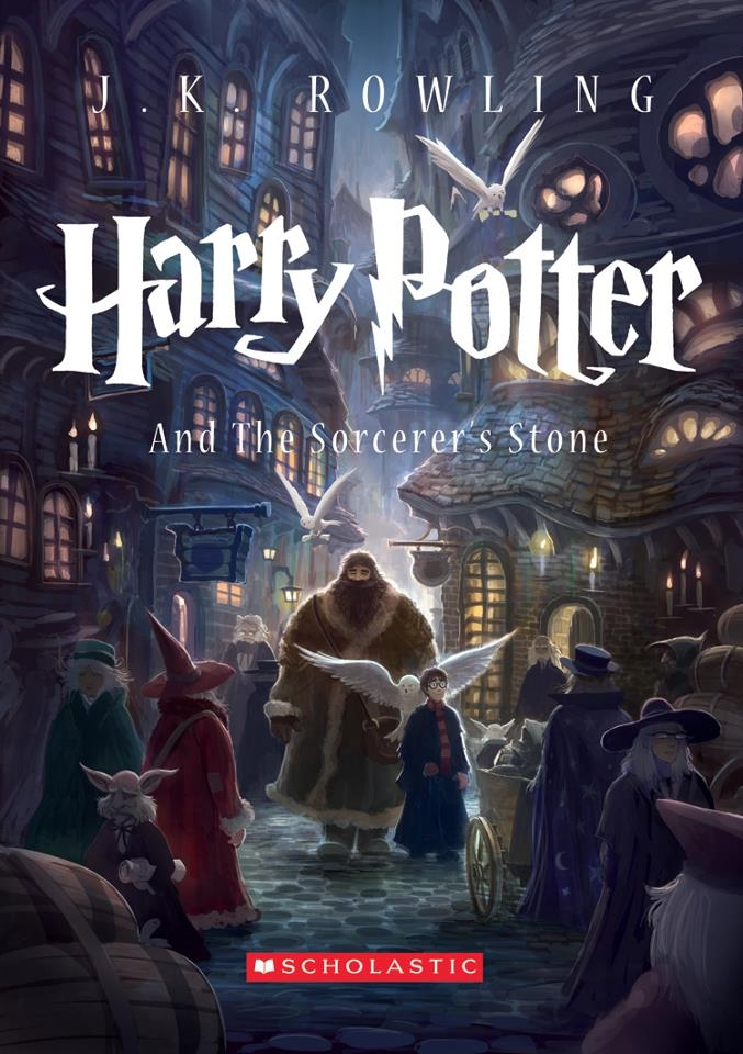 Harry Potter And The Sorcerer's Stone – J.K. Rowling