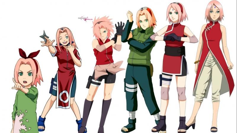 Quá trình lớn lên của Sakura