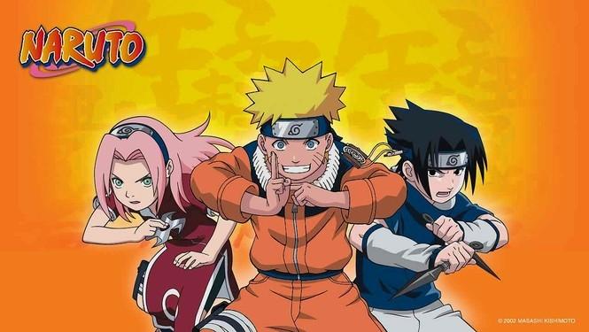Từ trái qua: Sakura, Naruto và Sasuke