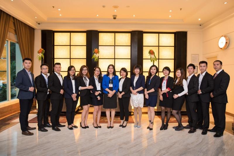 Đội ngũ nhân sự của Harvey Nash Việt Nam