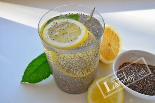 Thức uống cùng với hạt chia
