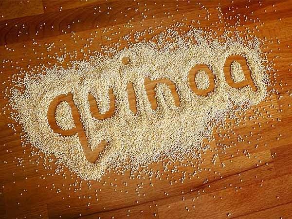Quinoa là loại hạt chứa nhiều chất tốt cho trẻ