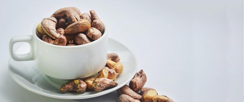 Hạt điều chứa loại chất béo hỗ trợ kiểm soát cân nặng (Nguồn: Sưu tầm)