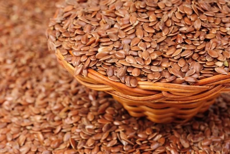 Hạt lanh giàu axit béo và omega 3
