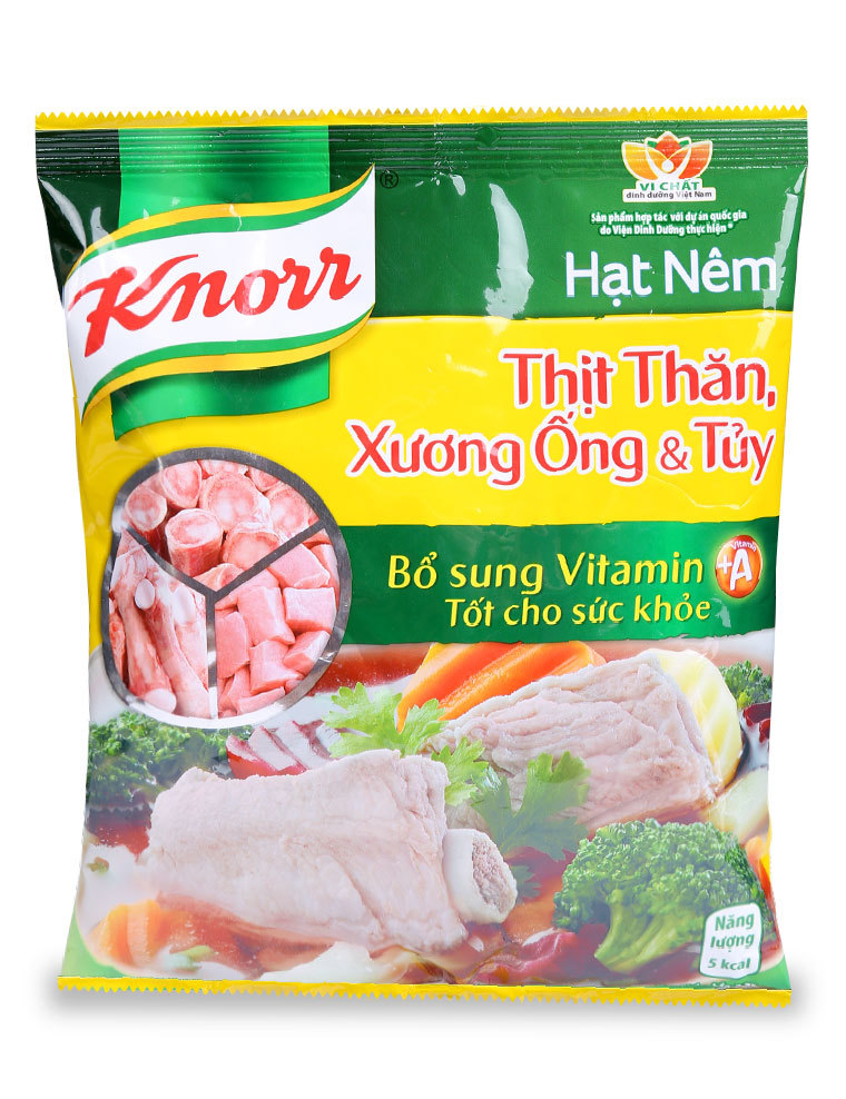 Hạt nêm Knorr thịt thăn, xương ống và tủy