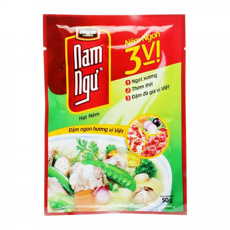 Hạt nêm nêm ngon 3 vị Nam Ngư Chin-su