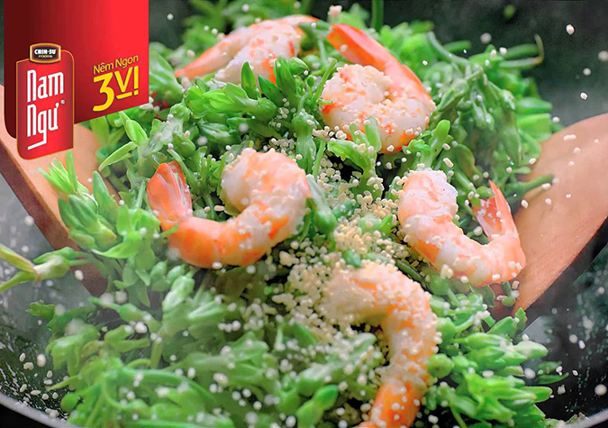 Sản phẩm mang tới sự thơm ngon của những nguyên liệu tự nhiên, vị đậm đà, kích thích vị giác, phù hợp khẩu vị của người Việt