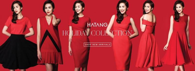 Tăng Thanh Hà trong collection của HATANG ( nguồn facebook Tang Thanh Ha)