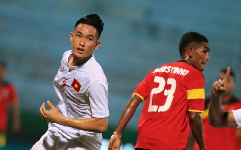 Tấn Sinh rất hay ghi bàn ở U19