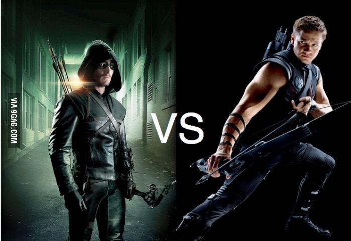Hawkeye và Green Arrow