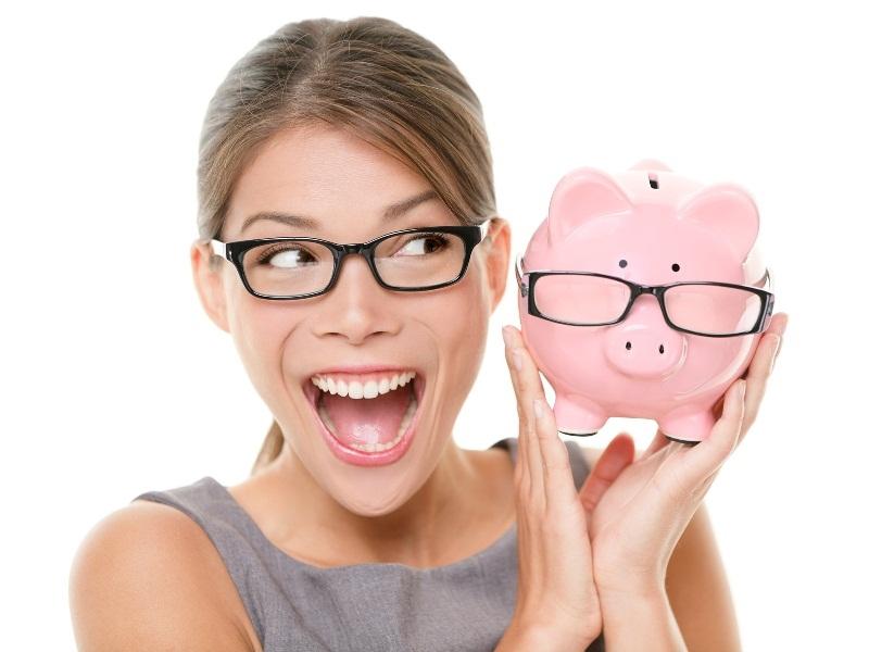 Hãy bỏ vào ống tiết kiệm số tiền dư sau khi mua sắm