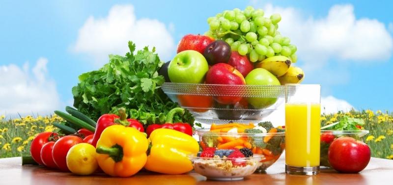 Ăn uống hợp lí với rau củ quả tươi