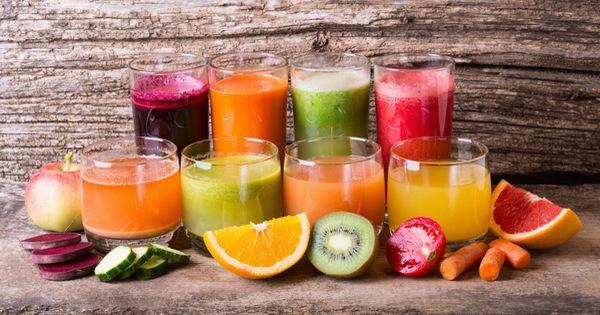 Hay uống các loại nước ép trái cây