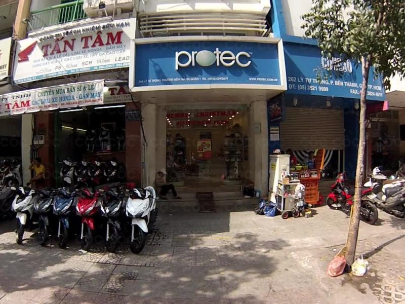 Cửa hàng bán mũ bảo hiểm của Protect