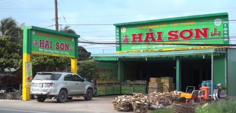 Cửa hàng bánh Pía Hải Sơn