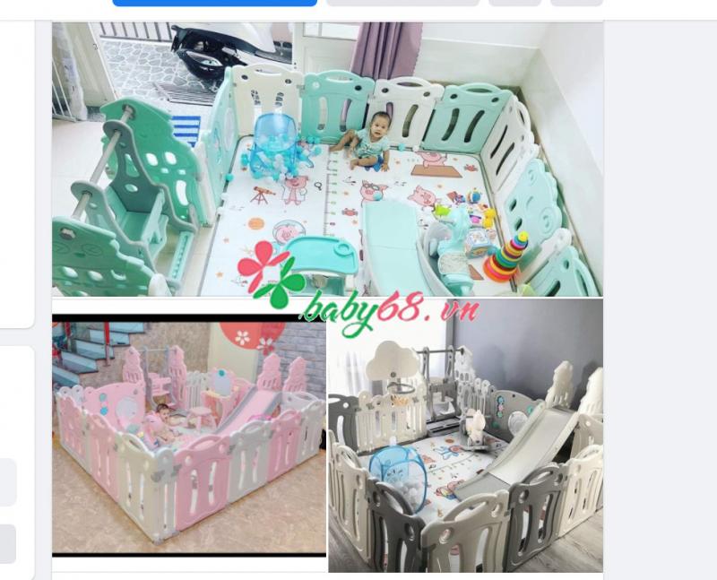 Hệ thống cửa hàng mẹ và bé online Baby68.vn