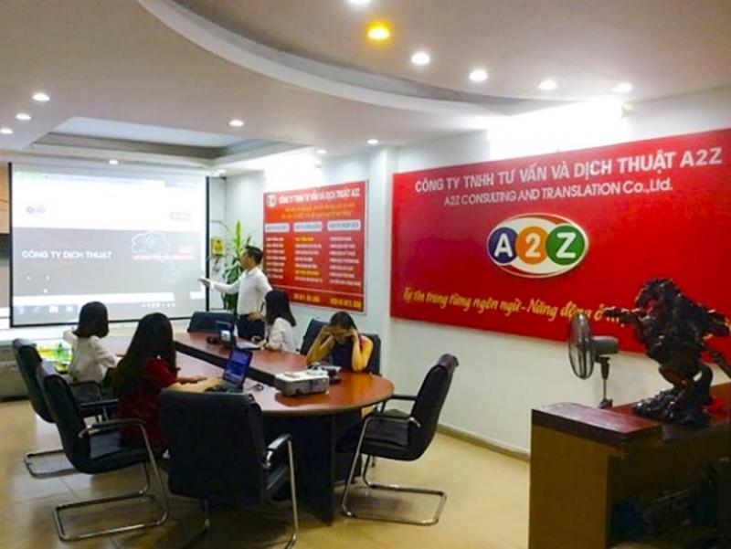 Hệ thống dịch thuật công chứng toàn quốc A2Z