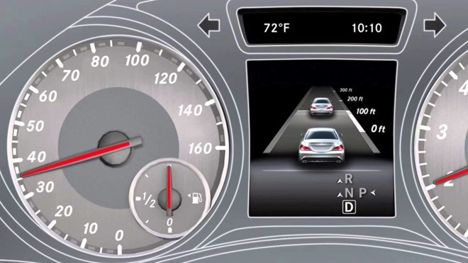 Hệ thống điều khiển hành trình sử dụng radar
