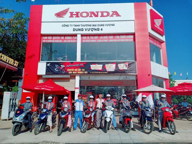 Hệ Thống Honda Dung Vượng
