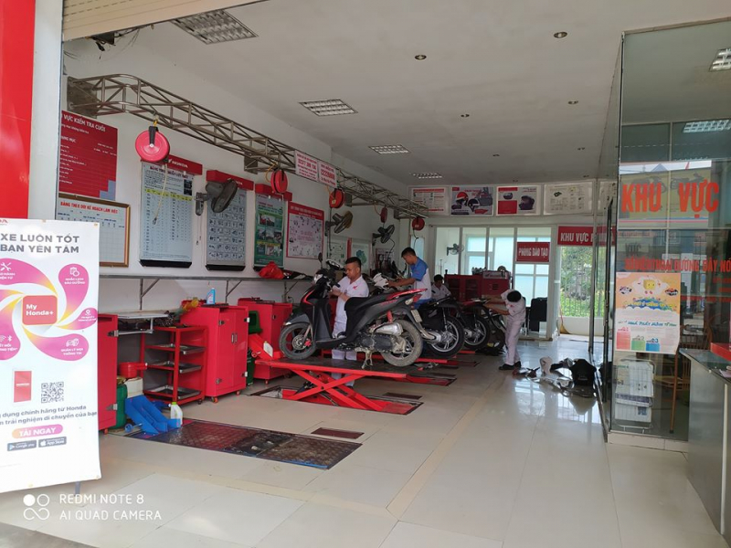 Hệ thống Honda Phương Hà - Thanh Hoá