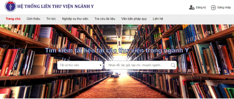Hệ thống liên thư viện ngành Y