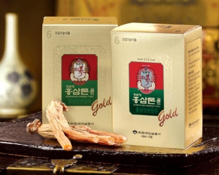 Nước hồng sâm chính hãng bán tại nhà thuốc Việt