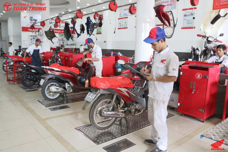 Hệ Thống ô tô & xe máy Toàn Trung