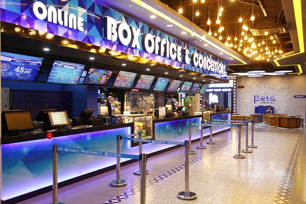 Hệ thống rạp chiếu phim Beta Cineplex