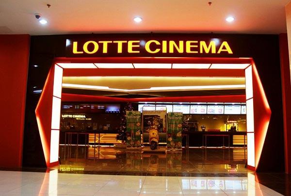 Hệ thống rạp chiếu phim Lotte Cinema