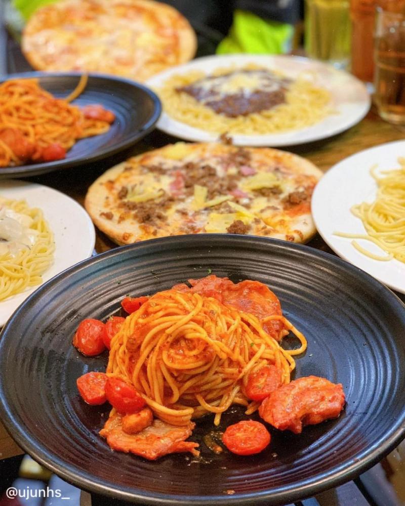 Spaghetti chuẩn vị Ý