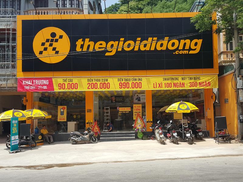 Hệ thống Thegioididong