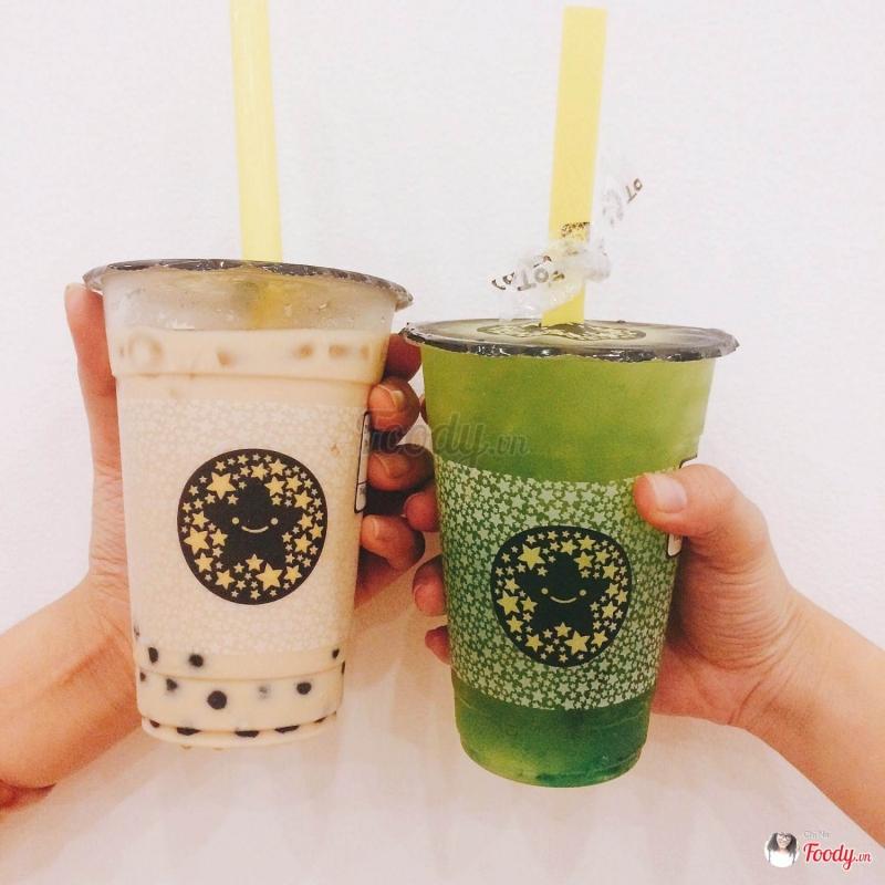 Trà sữa Ôlong và trà sữa Kiwi