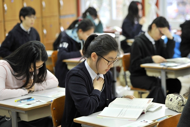 Ở Hàn Quốc rất thuận tiện cho những ai muốn học cao hơn đại học.